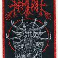Demilich Creature/Demon woven patch