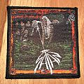 Satan Court in the act woven patch