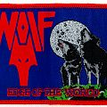 Wolf Edge of the World woven patch (reissue)