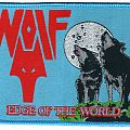 Wolf Edge of the World woven patch