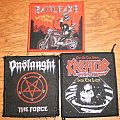 Kreator, Battleaxe & Onslaught patches