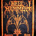 Hellhammer Satanic Rites Patch