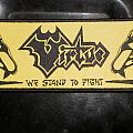 Virtue - We stand to fight strip patch