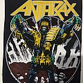 1987 Anthrax Back Patch