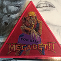Megadeth Peace Sells Triangle woven Patch