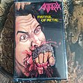Anthrax Fistful of metal cassette Tape / Vinyl / CD / Recording etc