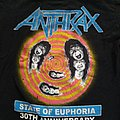 Anthrax State Of Euphoria 30th anniversary shirt