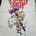 Power Trip Hammer Skull White Shirt
