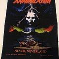 Annihilator Never Neverland 1990 Back Patch