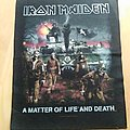 Iron Maiden A Matter Of Life And Death Back Patch
