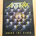 Anthrax Among The Kings Back patch