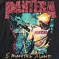 Pantera 5 Minutes Alone Shirt