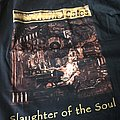 At The Gates - Slaughter of the Soul Tour Shirt Europe 1995