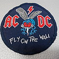 AC/DC - Patch - AC/DC - Fly on the wall - 80's Round patch VINTАGE