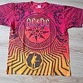 AC/DC - TShirt or Longsleeve - AC/DC 2010 Black Ice World Tour Licensed Tie Dye T-Shirt size - L