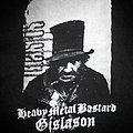 Sólstafir - Heavy Metal Bastard Gíslason   t-shirt  size - L