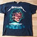 "Metallica - TShirt or Longsleeve - METАLLICА - ""WorldWired"" EUROPE 2017-2018 Concert Tour T shirt size - XL"