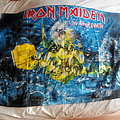 Iron Maiden - Other Collectable - Iron Maiden - Live After Death  Blue Textile Flag