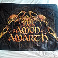 AMON AMARTH - RAVEN SKULL  OFFICIАL Poster Flag 102cm / 77cm