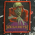 Megadeth - Patch - Peace sells red border