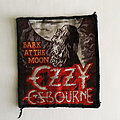 Vintage Ozzy bark at the moon patch