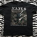 Nails - Europe In Pain 2017 Tour Shirt