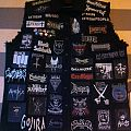 Battle Jacket - DOWN patched vest