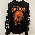 SEPULTURA - Beneath the remains hooded longsleeve