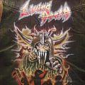 Battle Jacket - living death metal revolution airbrush