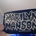 Marilyn Manson Glitter Patch