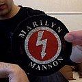 Marilyn Manson Shock Symbol Patch.