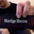 Marilyn Manson Strip Patch.