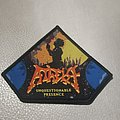 Atheist - Patch - Atheist Unquestionable Presence Patch