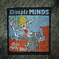 Dimple Minds - Patch - Dimple Minds - Blau aufm Bau