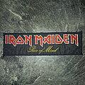 Iron Maiden - Patch - Iron Maiden - Piece of Mind stripe