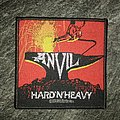 Anvil - Hard 'n' Heavy  Patch