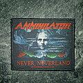 Annihilator - Patch - Annihilator - Never Neverland