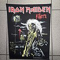 Iron Maiden - Patch - Iron Maiden - Killers Backpatch