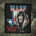 W.A.S.P. - Blind in Texas  Patch
