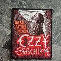 Ozzy Osbourne - Patch - Ozzy Osbourne - Bark at the Moon