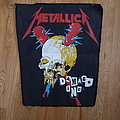 Metallica - Patch - Metallica - Damage Inc Backpatch