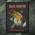 Iron Maiden - Patch - Iron Maiden - World Piece Tour