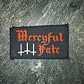 Mercyful Fate - Patch - Mercyful Fate Logo patch