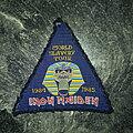 Iron Maiden - Patch - Iron Maiden - World Slavery Tour