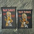 Iron Maiden - Patch - Iron Maiden - Killer World Tour