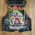 Destruction Tribute Kutte Battle Jacket