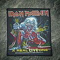 Iron Maiden - Patch - Iron Maiden - A Real Live One