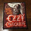 Ozzy Ozbourne - Bark at the Moon Patch