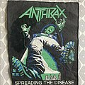 Anthrax - Patch - Anthrax - Speading the Disease backpatch