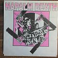 "Napalm Death - Nazi Punks Fuck Off 7"" pink marbled vinyl Tape / Vinyl / CD / Recording etc"